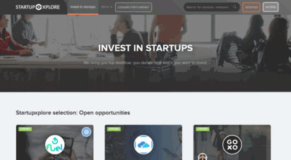 startupxplore.com - startupxplore, investment and funding for startups