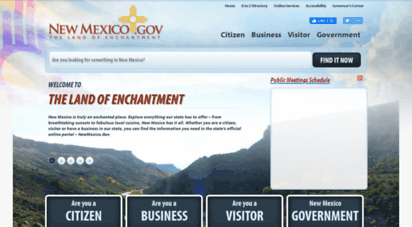 state.nm.us - newmexico.gov - welcome to the land of enchantment