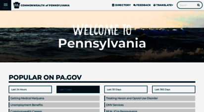 state.pa.us - pa.gov  the official website for the commonwealth of pennsylvania.