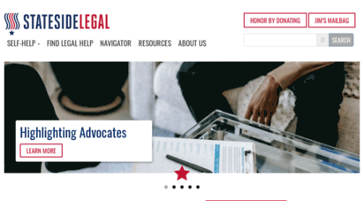 statesidelegal.org - stateside legal  legal help for military members, vets and families