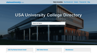 stateuniversity.com