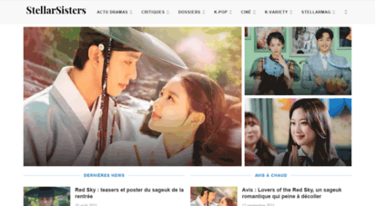 stellarsisters.com - dramas coréens, kpop, cinéma asiatique et variety shows - stellarsisters