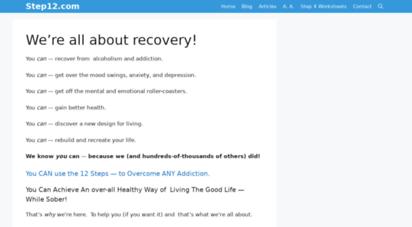 step12.com - step 12 ·com 12 step recovery