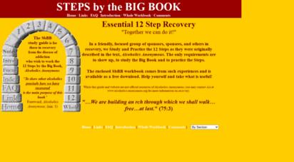 stepsbybigbook.net - big book!