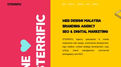 sterrific.com.my - sterrific agency  web design malaysia & creative agency
