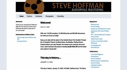 stevehoffman.tv - stevehoffman.tv - home of audiophile ing engineer steve hoffman