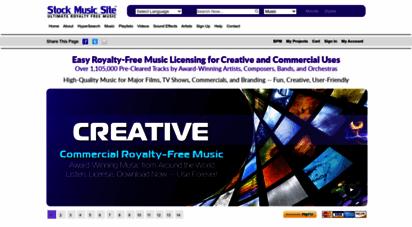 stockmusicsite.com - royalty free music