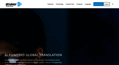 strakertranslations.com - the fastest, easiest, smartest translation services  straker translations