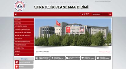 stratejikplan.erciyes.edu.tr - erciyes üniversitesi stratejik planý 2009-2013