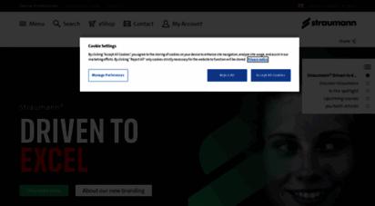 Welcome to Straumann co uk - Welcome to Straumann