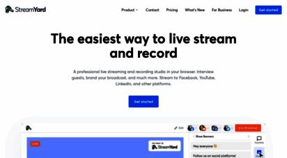 streamyard.com - streamyard
