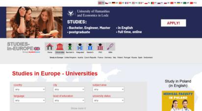 studies-in-europe.eu