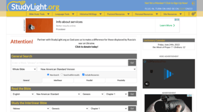 studylight.org - studylight.org: search, read and study with our bible tools