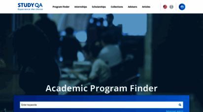 studyqa.com - studyqa - a search platform for academic programs and universities around the globe.