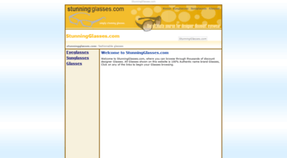 stunningglasses.com - glsss  stunningglsss.com