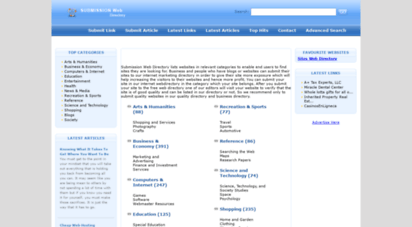 submissionwebdirectory.com - submission marketing web directory