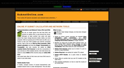 subnetonline.com