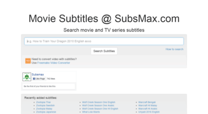 subsmax.com - subsmax.com - download subtitles for movies and tv series