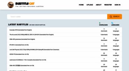 subtitlecat.com - subtitle cat - all language subtitles -