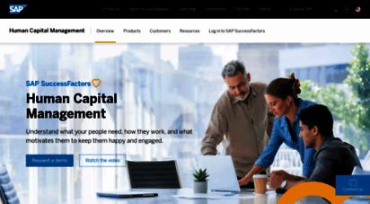successfactors.com - human capital management  cloud hcm software systems  sap