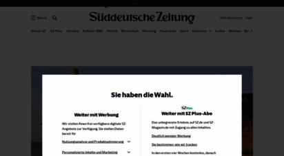 sueddeutsche.de - aktuelle nachrichten, hintergründe und kommentare - sz.de