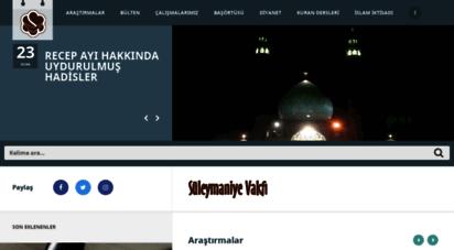 suleymaniyevakfi.org