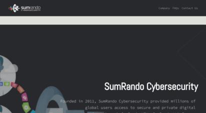 sumrando.com - sumrando - your private life, online but under the radar