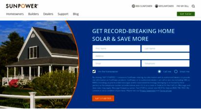 sunpower.com - sunpower - solaranlagen mit hervorragender leistungsfähigkeit