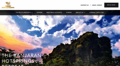 sunwayhotels.com - sunwayhotels.com  sunway hotels & resorts official website