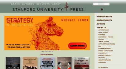 sup.org - stanford university press