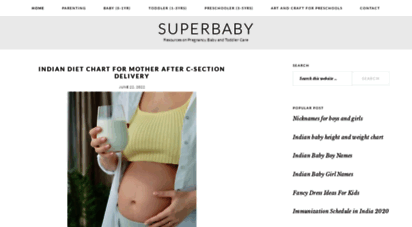 superbabyonline.com - superbaby - resources on pregnancy, baby and toddler care