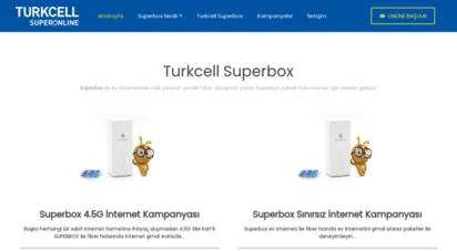 superboxinternet.net - turkcell superbox internet ana sayfa