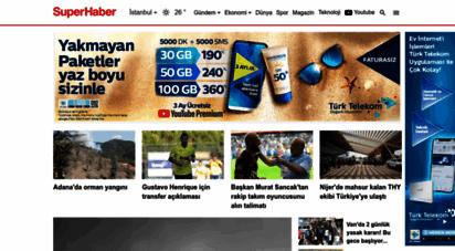 superhaber.tv - superhaber, son dakika haberler - süper haber