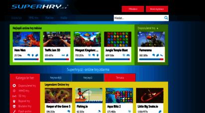 superhry.cz - superhry.cz - online hry zdarma
