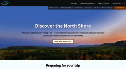 superiorhiking.org - superior hiking trail  mn´s premier hiking and running trail