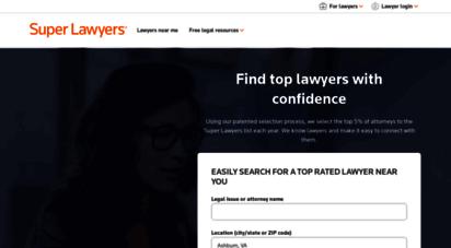 superlawyers.com -