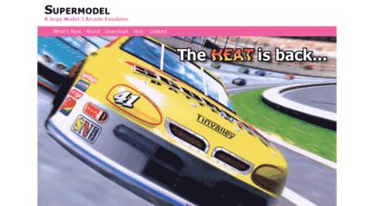 Welcome to Supermodel3 com - Supermodel: A Sega Model 3 Arcade Emulator