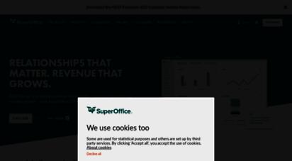 superoffice.com - superoffice crm customer relationships matter