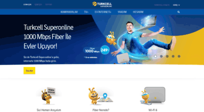 superonline.net - işık hızında fiber internet - turkcell superonline