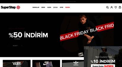 superstep.com.tr - superstep: spor ayakkabı, spor giyim ve aksesuar ürünleri