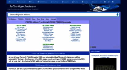 Welcome to Surclaro com - SurClaro FSX Addons Free Aircraft