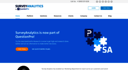 surveyanalytics.com - enterprise survey software - enterprise feedback management - market research software