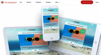 surveylegend.com - surveylegend ®  best mobile-ready free online survey app