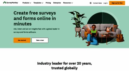 surveymonkey.co.uk - surveymonkey: the world´s most popular free online survey tool