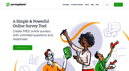 surveyplanet.com - create free online surveys  easy to use survey maker  surveyplanet
