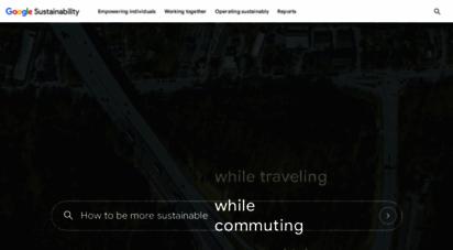sustainability.google -
