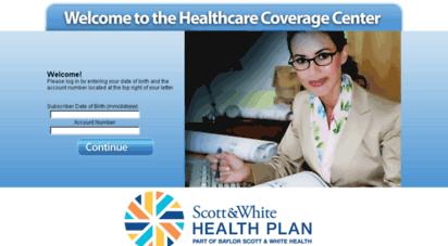 swhp.coverageupdatecenter.com -