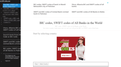 swiftcodes.me - bic codes, swift codes of all banks in the world