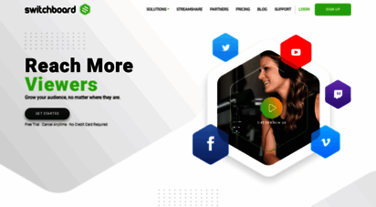 switchboard.live - the best way to deliver live streams online - switchboard live
