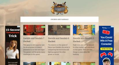 swordandsandals.top - swords and sandals - free online gladiator games
